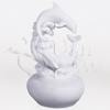 Two Dolphins Cultured Marble Statuary Token Cremation Urn