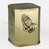 Victory I Praying Hands Bronze Metal Cremation Urn