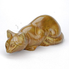 Pouncing Cat Sand Statuary Pet Cremation Urn