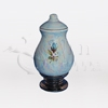 Callista Blue Ceramic Keepsake Cremation Urn