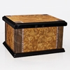 Sundown Two-Toned Memory Chest With Inlay Wood Cremation Urn