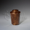 Praise Wood Token Cremation Urn