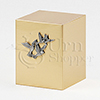 Simplicity Silver Doves Bronze Metal Cremation Urn
