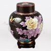 Great Wall Black Cloisonn� Cremation Urn