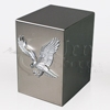 American Eagle Satin Finish Stainless Steel Metal Cremation Urn