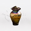 Iridescent Winter Glass Keepsake Cremation Urn