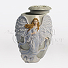 Beloved Hand-Painted Cast Resin Cremation Urn