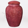 Red Marble Natural Marble Cremation Urn