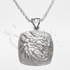 Dragon Cushion Sterling Silver Cremation Jewelry Necklace