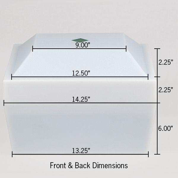 16273 Pyramid Cremation Urn Vault