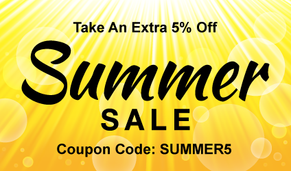 Take 5% off your order by using SUMMER5 in your cart.