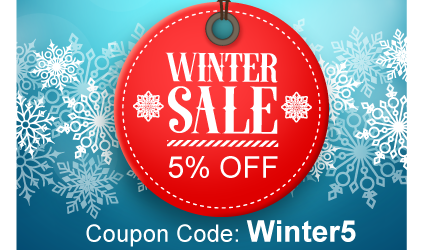 Take 5% off your order by using WINTER5 in your cart.